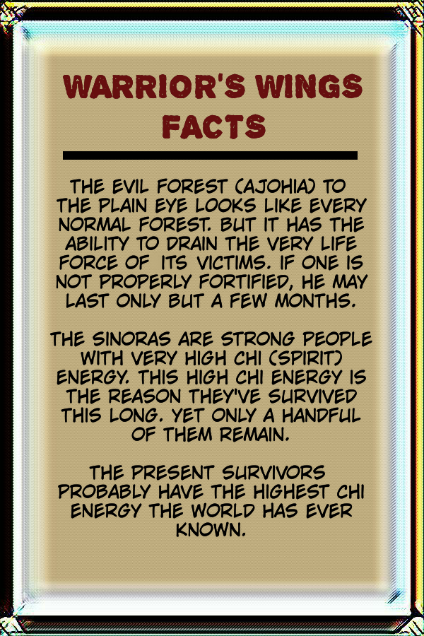 Warrior's Wings facts